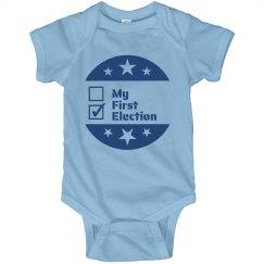 My First Election Onesie