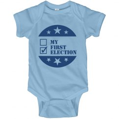 My First Election Onesie