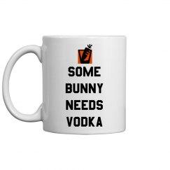 Need Vodka Funny Easter Pun Mug