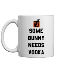Need Vodka Funny Easter Pun Mug