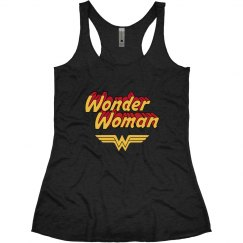 Wonder Woman Vintage Racerback