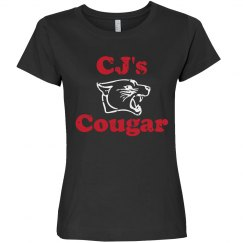 Personalized cougar tee