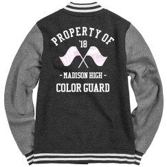 Property of Color Guard Varsity Jacket