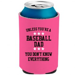 Baseball dad knows all
