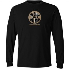 pro black unisex long sleeve tee
