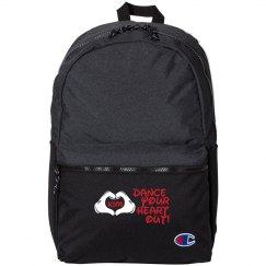 Custom Name Loves to Dance Small Kids Backpack
