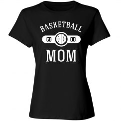 Players Number Basketball Mom