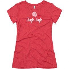 Jingle Jingle women's tshirt