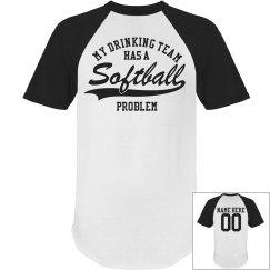 Softball Drinking Shirt