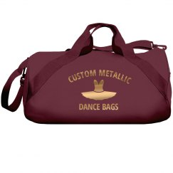 Custom Metallic Dance Bags