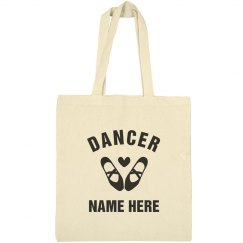 Custom Dancer Tote Bag