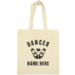 Custom Dancer Tote Bag