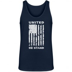 United We Stand Patriotic American Flag shirt