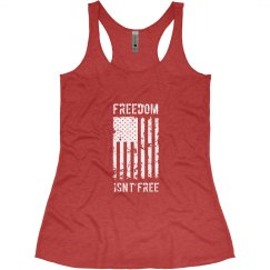 Freedom Isn't Free Veteran/Patriotic American Flag
