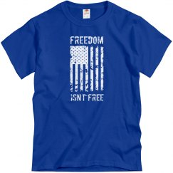 Freedom Isn't Free Veteran/Patriotic American Flag