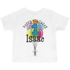 1 year old! Isaac