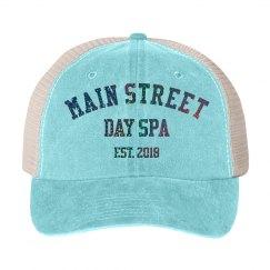 Main Street EST 2018 Glitter Snapback Trucker Hat