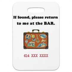 Bar Luggage tag