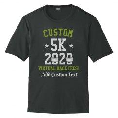 Custom Virtual Race 5k