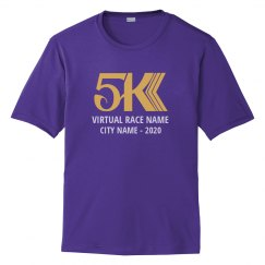 5K Custom Virtual Race T-Shirt