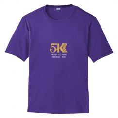 5K Custom Virtual Race T-Shirt
