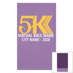Virtual 5K Race Custom Gaitor