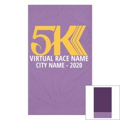 Virtual 5K Race Custom Gaitor