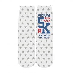 Virtual 5k Racing Socks