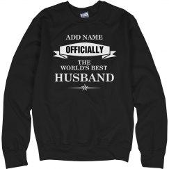 World's best husband shirt