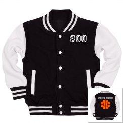 Custom Name Number Youth Basketball
