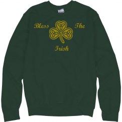 Bless The Irish Unisex Sweatshirt