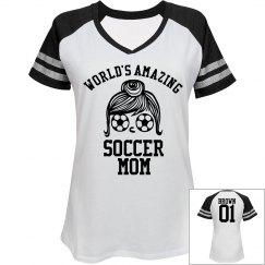 Brown. Soccer mom