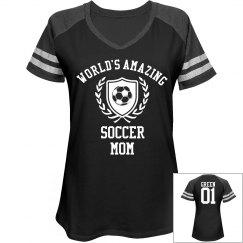 Green. Soccer mom