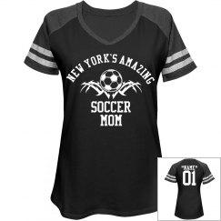 New York. Soccer mom