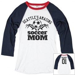 Seattle. Soccer mom