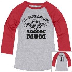 Pittsburgh. Soccer mom