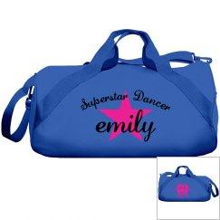 Emily. Superstar dancer
