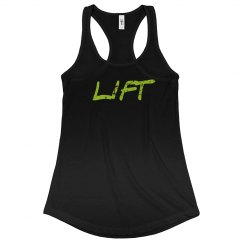 LIFT -black and neon grn
