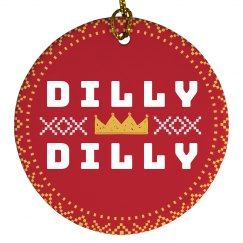 Festive Dilly Dilly Design