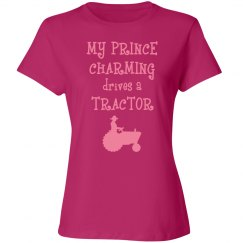 My prince charming drives a tractor