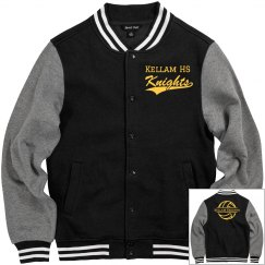 Classic Unisex Letterman Jacket