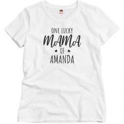 One Lucky Mama Custom Kid Name