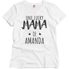 One Lucky Mama Custom Kid Name