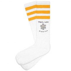 Tribal Love Socks