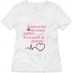 love is not science