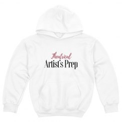 White Youth Hoodie