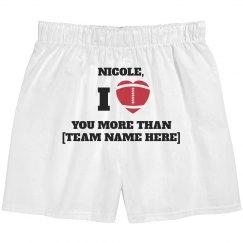 I Heart You More Than Sports