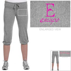 Burlesque cropped pant