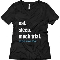 Eat, Sleep, Mock Trial