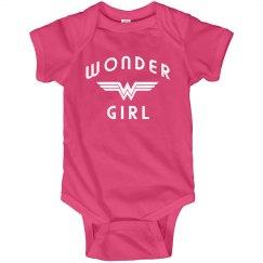 Wonder Girl Baby Onesie